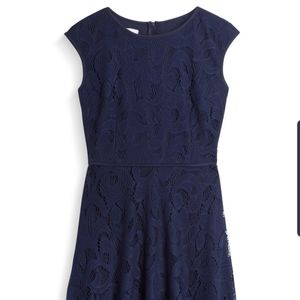 Wisp Leeah Lace Navy Knit Dress (Stitch Fix)